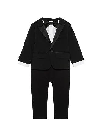 Dsquared Baby Boys Suit Black Black Black 3 6 Months Amazon Co