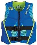Full Throttle Youth Hinged Rapid-Dry Flex-Back Life Jacket, Blue