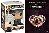 Labyrinth DVD + David Bowie Jareth The Goblin King Pop Figure Animated Fantasy Set
