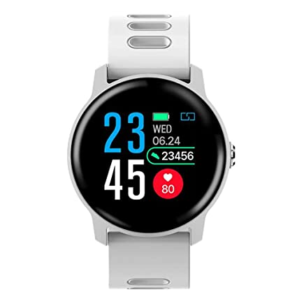 FGHKMJHB Bluetooth Smart Watch Heart Rate Health Monitor ...