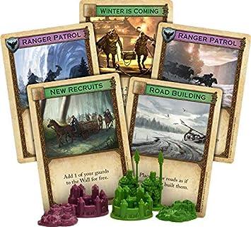 Catan Studios CN3016 Game of Thrones Catan: Brotherhood of The Watch 5-6 extensión de jugador, colores variados , color/modelo surtido: Amazon.es: Juguetes y juegos