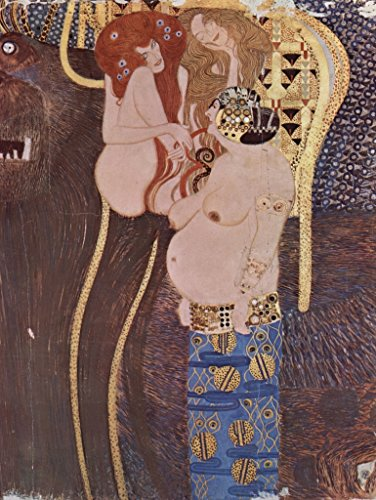 (Lais Jigsaw Gustav Klimt - The Beethoven Frieze, Mural in Secession House in Vienna, Today Austria Gallery, Detail 2000)