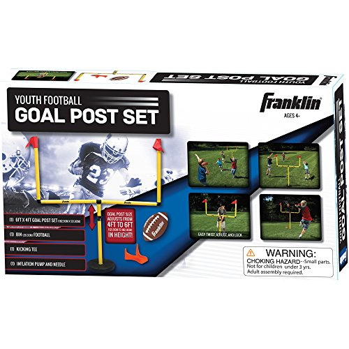 Franklin Sports Go Pro Youth Football Goal Post Set