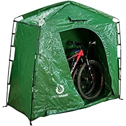 YardStash The IV: Heavy Duty, Space Saving Outdoor Storage Shed Tent