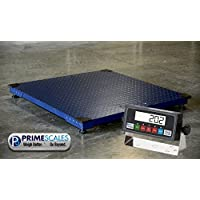 10000lbs Capacity, Durable Floor Pallet Scale, 5x5 Base