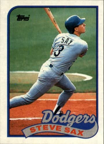 1989 Topps Baseball Card #40 Steve Sax