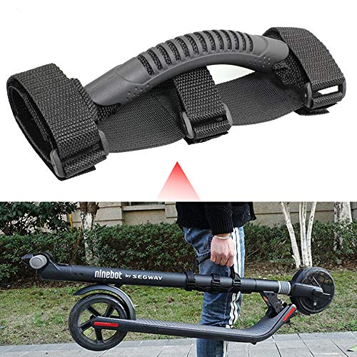 Scooter Skateboard Hand Strap Belt for Electric Scooter, Labor Saving Carrying Handle Bandage for Scooter Xiaomi Mijia M365 Carry Webbing Strips Ninebot Segway ES1 ES2 ES3 ES4