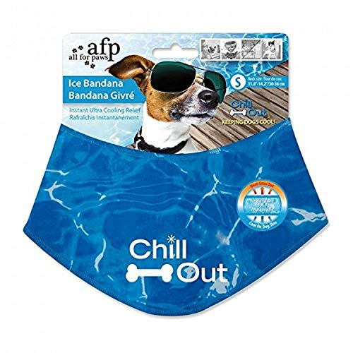 ALL FOR PAWS Chill Out Ice Bandana, Small