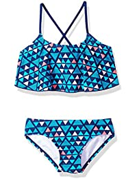 729c2093231 Girls  Alania Flounce Bikini Beach Sport 2-Piece Swimsuit