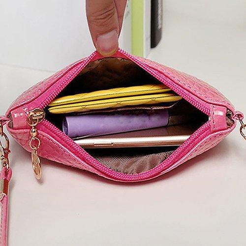 PU Sac sac Whobabe à sacoche à bandoulière Bandoulière Mini Messenger Cuir Femme Sac main Mode 78w8xrqXA