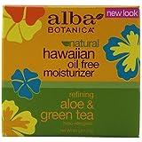 Alba Botanica Aloe & Green tea, Oil-Free Moisturizer, 3 Ounce (Pack of 6)