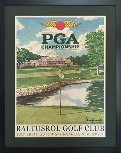 Baltusrol Golf Club | 2016 PGA Championship Framed