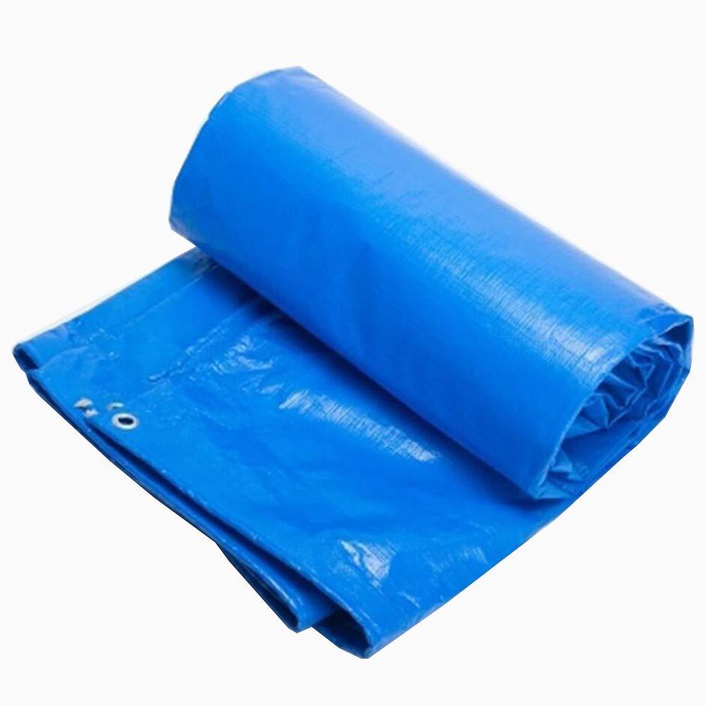 YHUJH Wasserdichte Plane, starker Regen wasserdichter Sonnenschutz-LKW-Abdeckungs-Tuch-Sonnenschutzregen-Überdachung-Plane (Größe   4  4m)
