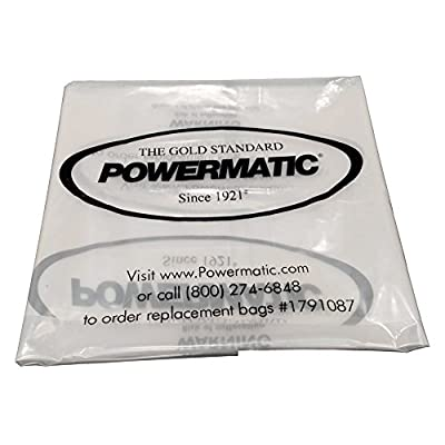 Powermatic 1791087 Clear Plastic Collection Bags for Powermatic Dust Collectors
