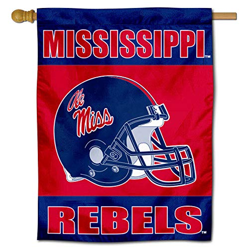 College Flags and Banners Co. Ole Miss Banner House Flag