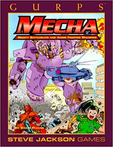 Book GURPS Mecha (GURPS: Generic Universal Role Playing System)