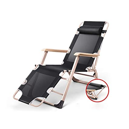Amazon.com: Silla reclinable plegable para jardín, playa ...