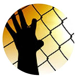 alfombrilla de ratón Inmigración ilegal - ronda - 20cm