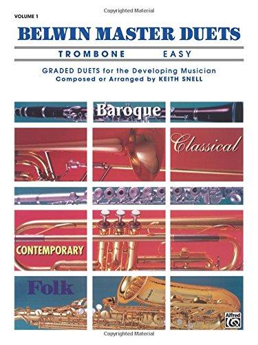 Belwin Master Duets Trombone Easy, Vol. 1