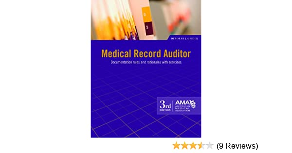 Medical record auditor 9781603592949 medicine health science medical record auditor 9781603592949 medicine health science books amazon fandeluxe Images