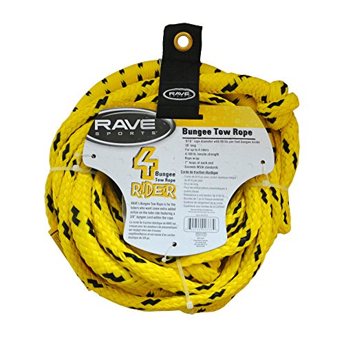 RAVE 1-4 Rider Bungee Tube Tow Rope