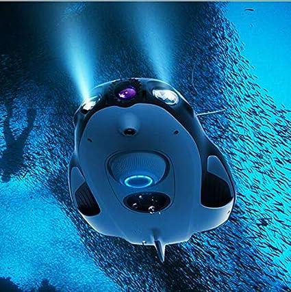 Submarino Drone 4K HD Cámara Batería De Larga Duración De Buceo ...