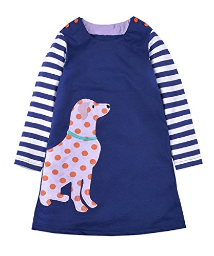 Little Girl Dog Tshirt - 4