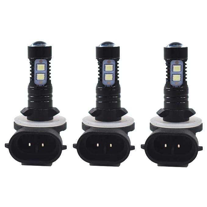 3x 8000K LED Headlight For Polaris Sportsman X2 570 SP 570 SP 850 2015-2018