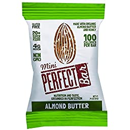 Perfect Bar - Organic - Mini - Almond Butter - .74 oz - Case of 20
