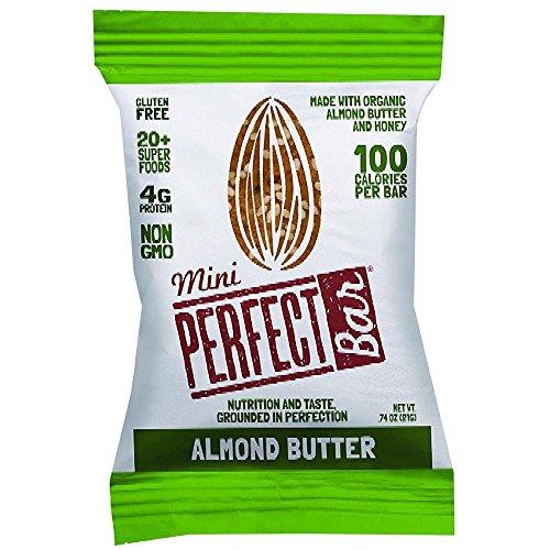 (Perfect Bar Organic Mini Almond Butter Bar, 0.74 Ounce -- 20 per case.)