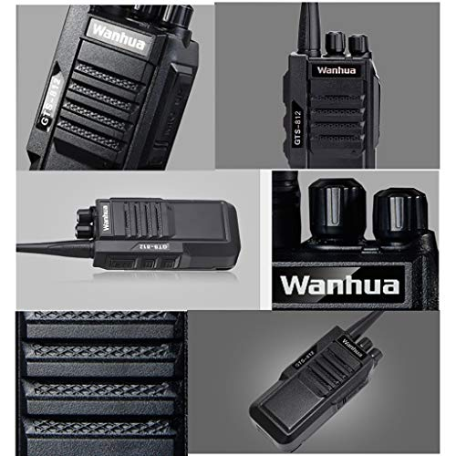 Nelc5kl Walkie Talkies Rechargeable Long Range Two-Way Radios with UHF 403-480Mhz Walkie Talkies 1800 mAh Li-ion Battery and Charger Included Radio (Size : E) by Nelc5kl (Image #2)