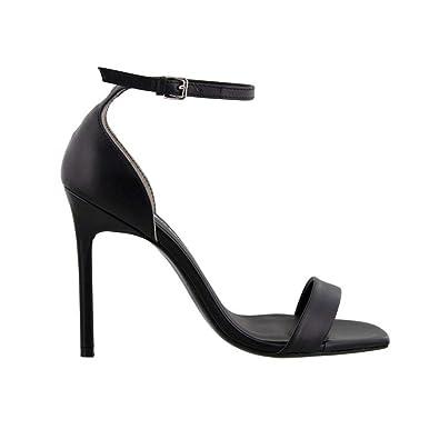 TONY BIANCO Women's Sacha Shoes, Black Capretto, 39 12 EU
