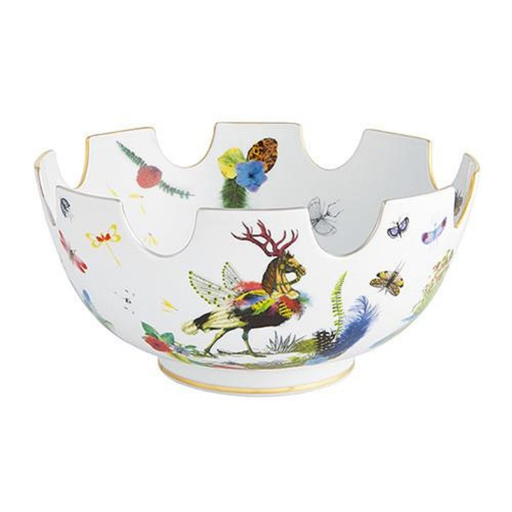 Vista Alegre Caribe Fruit Bowl by Christian Lacroix by Vista Alegre