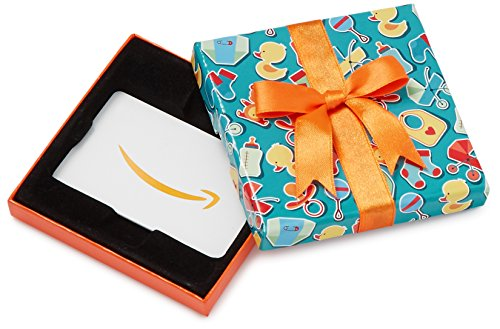 Amazon.com Gift Card in a Baby Icons Box images