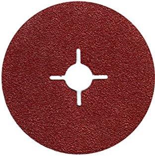 25/x Sheets of Sandpaper Fibre Discs 115/mm = 100/Grit for Angle Grinder