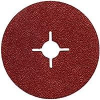 25X Discos de fibra (lija hojas 115mm grano