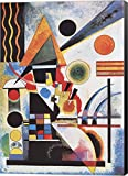 Balancement by Wassily Kandinsky Canvas Art Wall Picture, Museum Wrapped with Black Sides and sold by Great Art Now, size 27x38 inches. This canvas artwork is popular in our Abstract Art, Modern Art, Art by Venue, Office Art, and Modern Office Art ca...