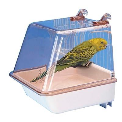 Penn Plax Bird Bath with Universal Clips by Penn Plax, INC.