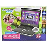 Discovery Kids Teach & Talk Exploration Pink Laptop