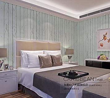 JZMMCD Karibik Vliestapeten, Blau Mediterranen Wald, Schlafzimmer,  Wohnzimmer, TV, Hintergrund,