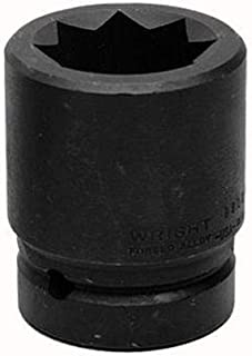 product image for Wright Tool 8812 1-1/2-Inch with 1-Inch Drive 8 Point Double Square Impact Railroad Sockets