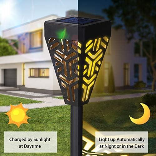 Solarbetriebene Gartenleuchten LED-Rasen-Lampe Energiesparende Und Sichere IP44 Wasserdicht Für Garten-Yard-Patio