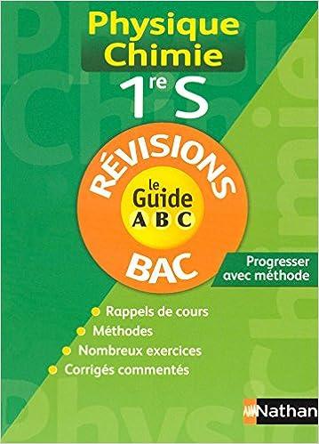 Téléchargement GUIDE ABC PHY-CHIM 1RE S REVIS pdf
