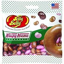 Jelly Belly Krispy Kreme Doughnuts Jelly Beans, Assorted Doughnut Flavors, 2.8-oz, 12 Pack