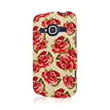zte concord ii phone cases - Empire MPERO SNAPZ Series Rubberized Case for ZTE Concord 2 - Retail Packaging - Vintage Red Roses