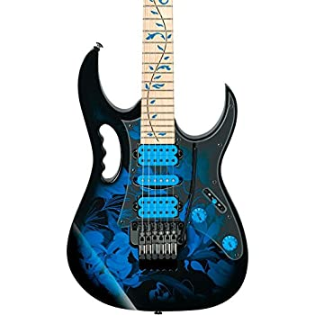 Ibanez JEM77 Steve Vai Signature - Blue Floral Pattern