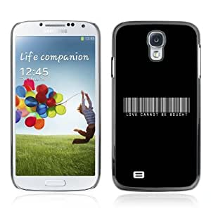 Designer Depo Hard Protection Case for Samsung Galaxy S4 / Love Cannot Be Bought