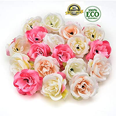 Silk Flowers In Bulk Wholesale Fake Flowers Heads Mini Rose Fabric