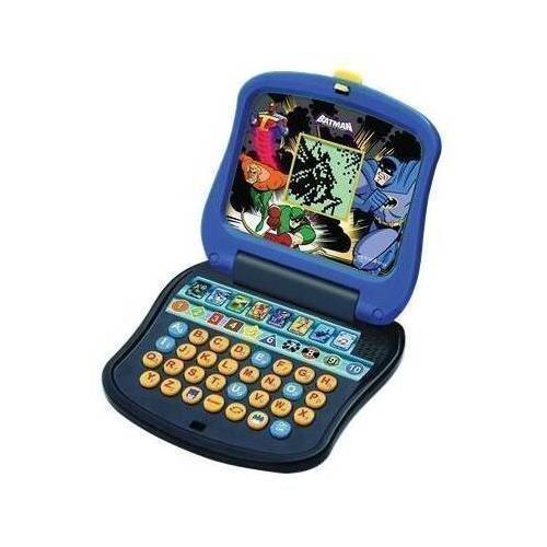 Batman Laptop - Oregon Scientific Batman Junior Laptop - Theme/Subject - Letter Vocabulary Shape Color and more