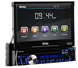 Amazon.com: BOSS Audio BV9986BI Single Din, Touchscreen, Bluetooth ...